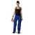 Damen Bundhose 2124 5353 4699 kornblumenblau-schwarz Größe D34...