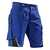 Shorts 2524 5353 4699 kornblumenblau-schwarz Größe 40 Kontrast-Elemente:...