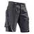 Shorts 2524 5353 9799 anthrazit-schwarz Größe 40 Kontrast-Elemente:...