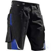 Shorts 2524 5353 9946 schwarz-kornblumenblau Größe 40 Kontrast-Elemente:...