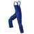 Latzhose 3324 5353 4699 kornblumenblau-schwarz Größe 102 Reflex-Elemente...