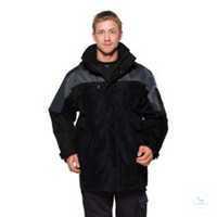 100815 Icon Airtech® Winterjacke 3-in-1 4816 GT, schwarz-grau Größe XS...