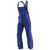 Latzhose IDENTiQ cotton 3044 1314 4648 kornblumenblau-dunkelblau, Größe 102 2...