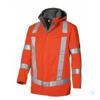 Wetterschutzjacke 2230881-85 warnorange Größe XS Stehkragen, abknöpfbare...