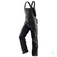 SPECIFiQ Latzhose 31583411 schwarz, Größe 102 2 Seitentaschen, Gesäßtasche,...