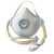 Einwegmaske 3405 VdGW 30 FFP3 Bebänderung mit Clip Neben der ActivForm®,...
