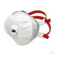 Partikelmaske FFP3 R D 8835+ Filtrierende Halbmaske zum Schutz gegen...