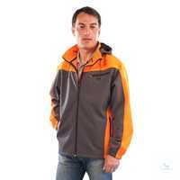 Softshell-Jacke 2-6300 Größe S Softshell-Jacke winddicht, wasserabweisend,...
