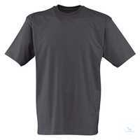 T-Shirt 54066211-97 anthrazit Größe XS Kurzarm, mit Rundhals.