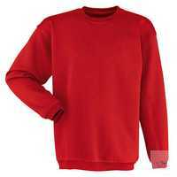 Sweatshirt 59066311-55 mittelrot Größe XS Langarm, mit Rundhals und Strickbund.