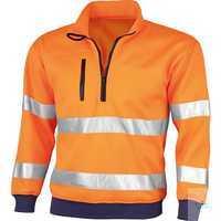 Warnschutz-Sweatshirt 61930BB001 warnorange Größe S Langarm-Sweatshirt....
