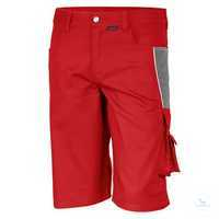 Shorts 61936TC2 feuerrot-grau Größe 42 Bund mit 6 Gürtelschlaufen. Gummizug...