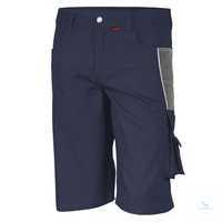 Shorts 61936TC6 marine-grau Größe 42 Bund mit 6 Gürtelschlaufen. Gummizug...