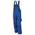 Latzhose 61937TC0 kornblau-schwarz Größe 102 Brustlatz mit aufgesetzter...