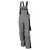 Latzhose 61937TC7 grau-schwarz Größe 102 Brustlatz mit aufgesetzter...