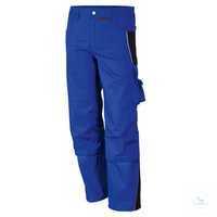 Bundhose 61938TC0 kornblau-schwarz Größe 42 Bund mit 6 Gürtelschlaufen....