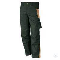 Bundhose 61938TC1 oliv-khaki Größe 102 Bund mit 6 Gürtelschlaufen. Gummizug...