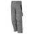 Bundhose 61938TC7 grau-schwarz Größe 102 Bund mit 6 Gürtelschlaufen. Gummizug...