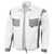 Bundjacke 61939TC4 weiß-grau Größe S Umlegekragen. Vorn verdeckter...