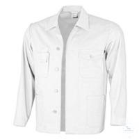 Arbeitsjacke 61940DF4 weiß Größe 44 Arbeitsjacke mit Umlegekragen, vorn...