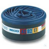Gasfilter A2 B2 E1 9500 Gasfilter kann direkt mit dem Maskenkörper verbunden...