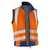 KÜBLER REFLECTIQ Weste 7207-8340-3746 warnorange-kornblumenblau Größe XS...