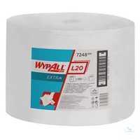 WYPALL* L20 Wischtücher 7248 Großrolle mit 1.000 Tüchern B 23, 5 x L 38 cm...
