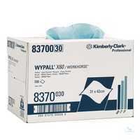 WYPALL* X60 Wischtücher, B 31, 5 x L 42, 5 cm, 8370 Vielseitig, haltbar und...