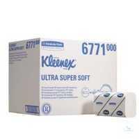 KLEENEX® ULTRA SUPER SOFT Handtuch 6771 Supersofte, hochweiße Handtücher,...