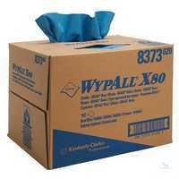 WYPALL* X80 Wischtücher, B 31, 5 x L 42, 5 cm, 8373 Besonders robust und...