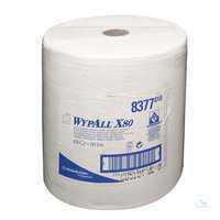 WYPALL* X80 Wischtücher, B 31, 5 x L 38 cm, 8377 Besonders robust und...