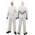 KLEENGUARD® A25+ Schutzanzug 89770 Größe S Atmungsaktiver, partikeldichter...