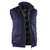 Winterweste 7668 5320 48 dunkelblau Größe S 1 Brusttasche links mit Patte und...
