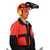 Forsthelmkombination 8-6800 orange Forsthelmkombination mit Gesichtsschild EN...