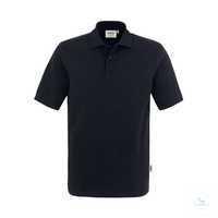 Poloshirt Top 800-05 Schwarz Größe XS Klassisches Poloshirt mit hochwertig...