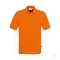 Poloshirt Top 800-27 Orange Größe XS Klassisches Poloshirt mit hochwertig...