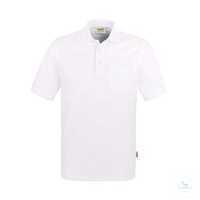 Pocket-Poloshirt Top 802-01 Weiß Größe XS Klassisches Poloshirt mit...