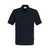 Pocket-Poloshirt Top 802-05 Schwarz Größe XS Klassisches Poloshirt mit...