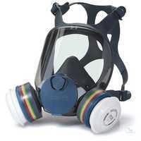 9001 Vollmaske Serie m. EasyLock, Maskenkörper Größe S Extrem leicht (nur 360...