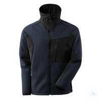 Strickjacke ADVANCED 17105309-01009 schwarzblau-schwarz Größe XS...