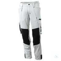 Stretch-HosemitKnietaschen 17179-311-06 weiß Größe 42 Hose mit Knietaschen....