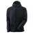 Kapuzensweatshirt ADVANCED 17384319-01009 schwarzblau-schwarz Größe XS...