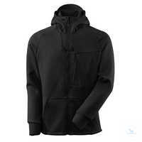 Kapuzensweatshirt ADVANCED 17384319-09 schwarz Größe XS Moderne, körpernahe...