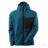 Kapuzensweatshirt ADVANCED 17384319-3309 moosgrün-schwarz Größe XS Moderne,...