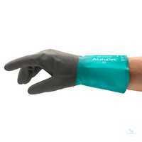 AlphaTec® NEU 58-535W Größe 7 Zuverlässiger Chemikalienschutz für erhöhte...