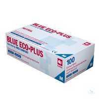 Untersuchungshandschuh Blue Eco Plus 01198 Größe S Untersuchungshandschuh,...