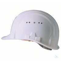 Schutzhelm Baumeister 80, weiß, 9249010516 Standard-Bauhelm. Integrierte,...