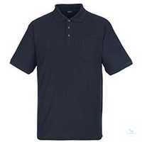 Polo-Shirt Borneo 00783260-010 schwarzblau Größe XS Rippenbündchen am Kragen...