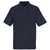 Polo-Shirt Borneo 00783260-09 schwarz Größe XS Rippenbündchen am Kragen und...