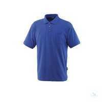 Polo-Shirt Borneo 00783260-11 kornblau Größe XS Rippenbündchen am Kragen und...